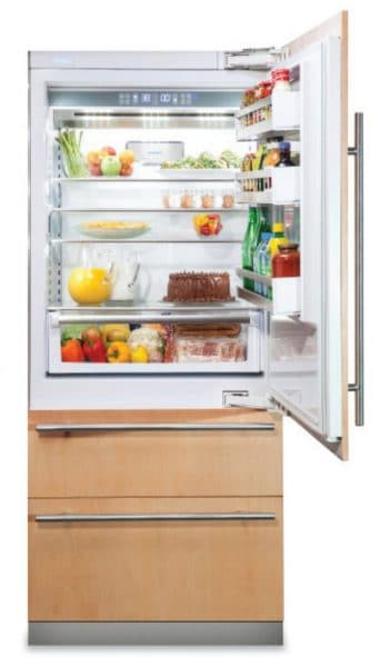 viking integrated refrigerator