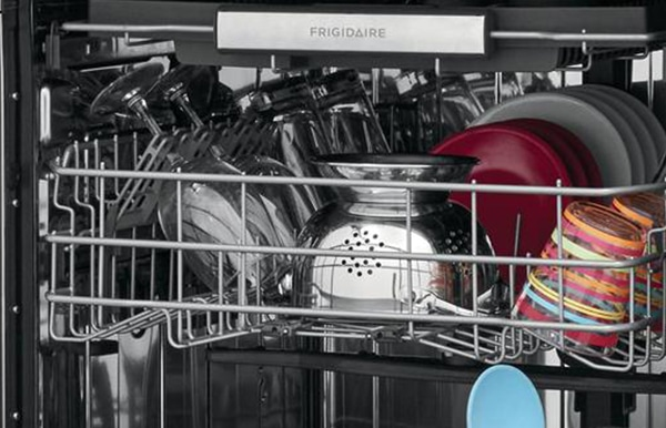 how to load a Frigidaire dishwasher