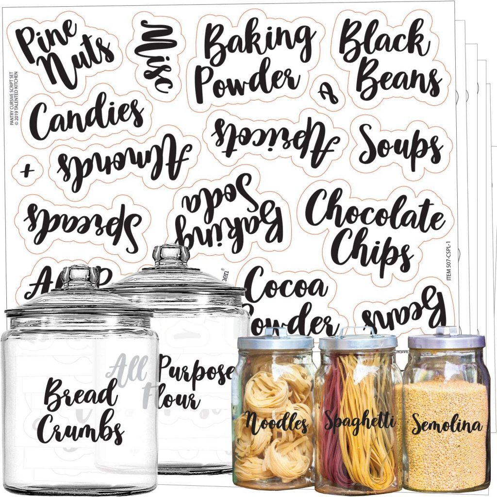 use pantry labels