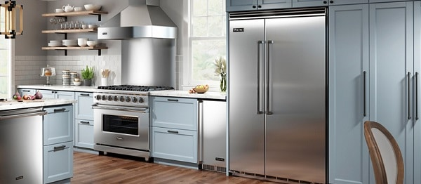 viking refrigerator loud
