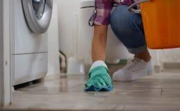 Electrolux washer leaking